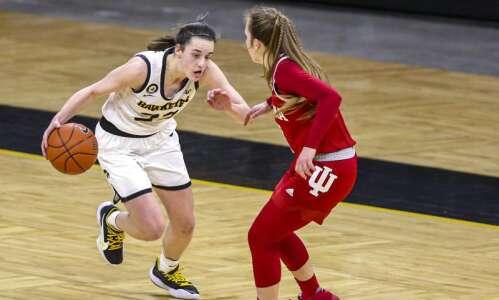 Caitlin Clark, Big Ten player of the year? Iowa freshman…