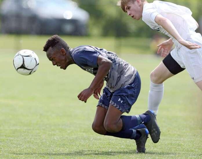 Cedar Rapids Xavier vs. Lewis Central: Class 2A boys' state soccer championship photos