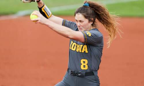 Photos: Big Ten College Softball--Northwestern at Iowa