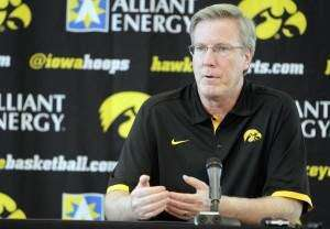 Statement from Iowa Coach Fran McCaffery