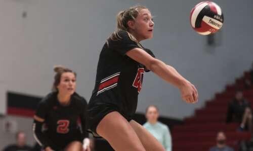 Photos: Linn-Mar vs. Waterloo West regional volleyball