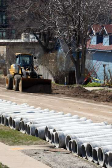 Road construction projects for 2021 underway in Cedar Rapids