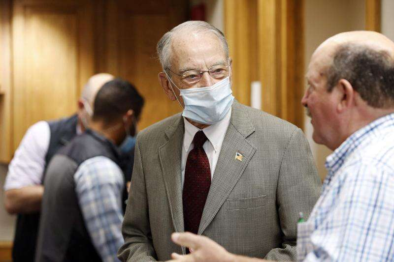 Grassley calls latest relief package 'reasonable' response to COVID-19 hardship