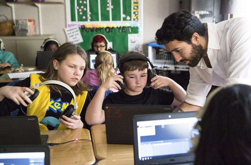 Iowa City students finding math in music