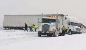 Slow down, State Patrol urges; travel treacherous