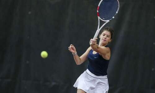 Photos: Xavier hosts girls regional tennis meet