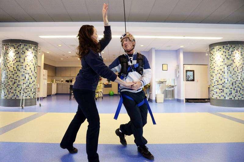Ballroom dancing helps Iowa man get back on his feet