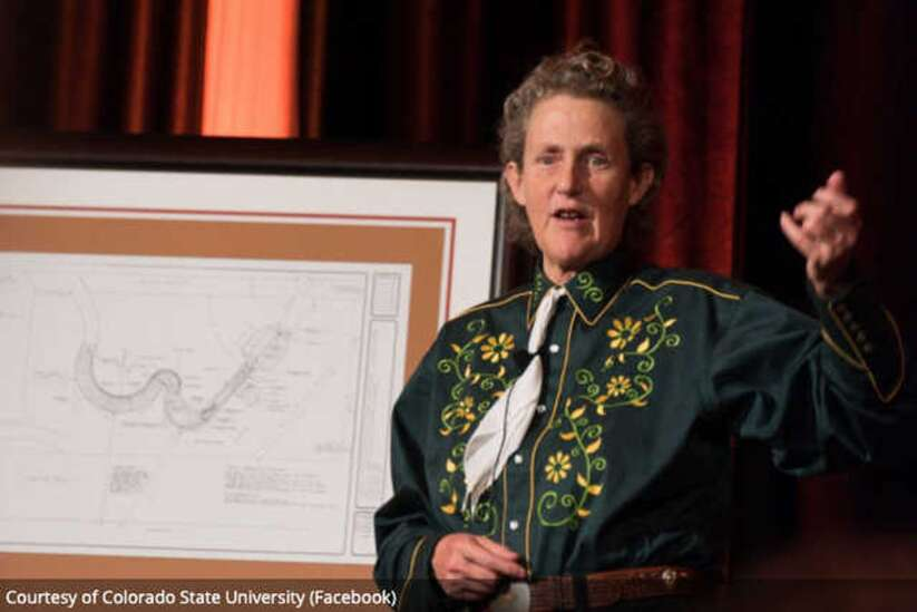 Autism advocate Temple Grandin to speak at Coe today
