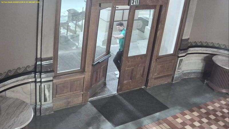 Iowa State Patrol, DCI seek public's help identifying State Capitol break-in suspect