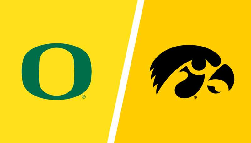Iowa vs. Oregon: Live updates, highlights from NCAA tournament second round