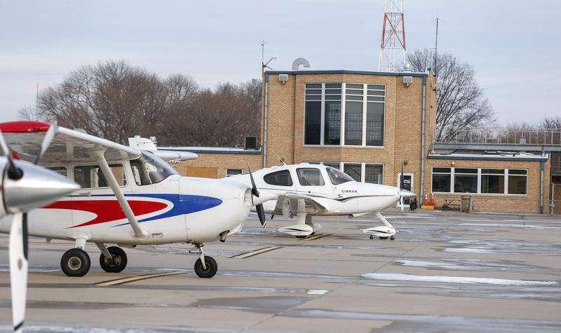 Iowa City airport celebrates 100 years