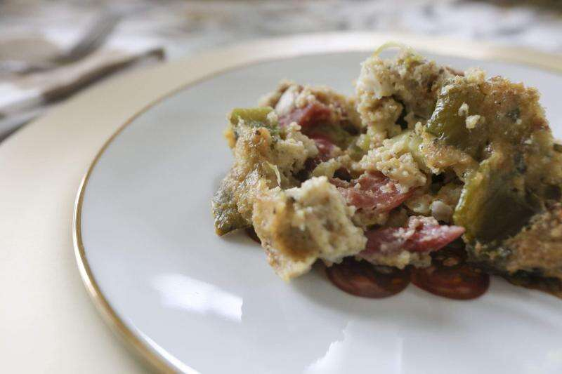 Here's a Southern Turkey Cornbread Dressing worthy of your Thanksgiving table