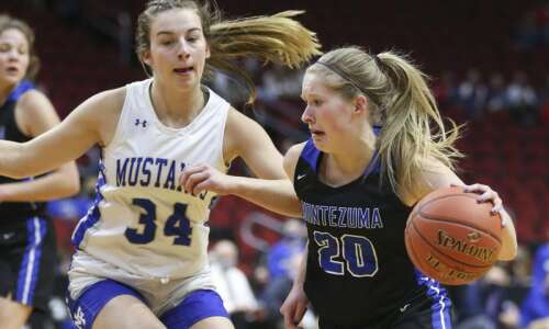 Photos: Montezuma vs. Newell-Fonda, Iowa Class 1A girls' state basketball…