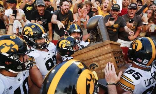 Photos: Iowa vs. Iowa State football