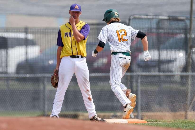 Photos: Alburnett vs. Council Bluffs St. Albert, Iowa Class 1A state baseball tournament semifinal