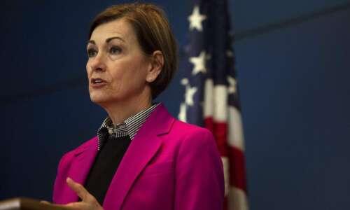 WATCH: Iowa Gov. Kim Reynolds' news conference Sunday