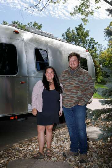 North Liberty couple launches Away in an Airstream for a vintage camping experience