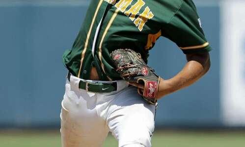 Dyersville Beckman continues emotional season with state baseball semifinal berth