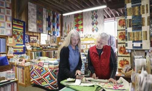 Heritage Designs Quilting a 'destination shop' in Amana