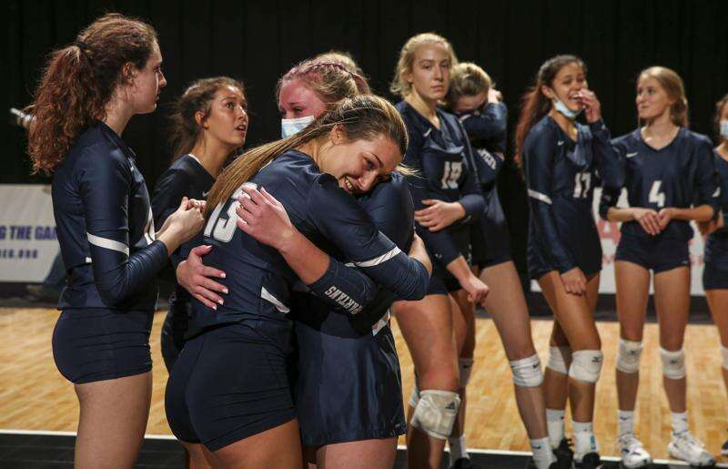 Photos: Ankeny vs. Pleasant Valley, Iowa Class 5A state volleyball semifinals