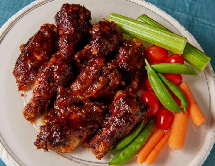 Guinness chicken wings will be a hit at any party