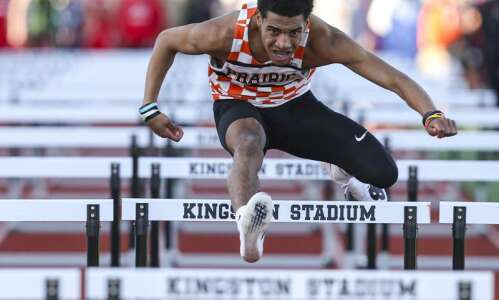 Cedar Rapids Prairie reclaims top spot in boys' track and…