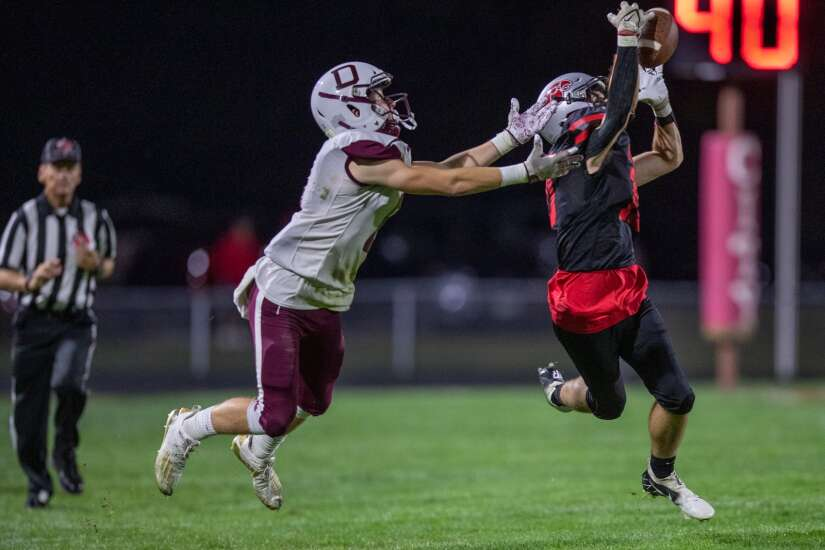 Photos: West Des Moines Dowling vs. Iowa City High, Iowa high school football Week 4