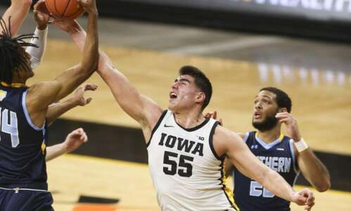 Photos: Iowa men's basketball vs. Southern University