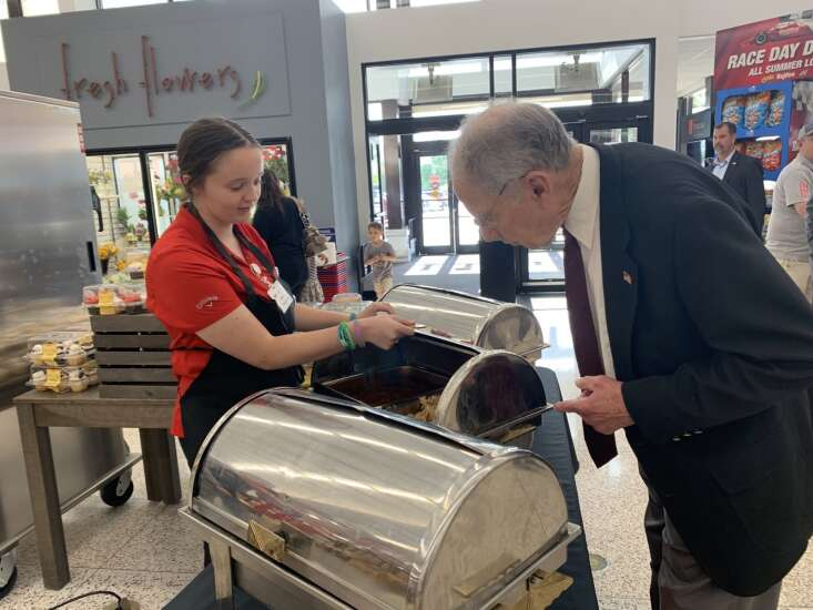 Grassley sees no need for Iowa lottery to drive vaccinations