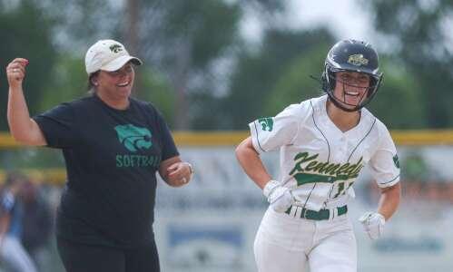 Cedar Rapids Kennedy returns to state softball