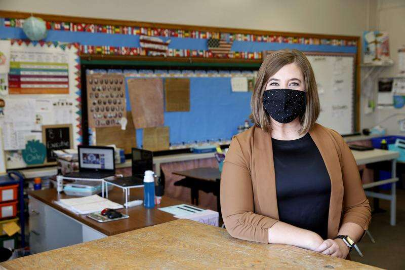 For middle school social studies teacher, anything seen on the news or social media is fair game