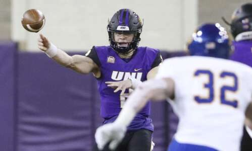 Will McElvain expected to return as UNI starting QB after…