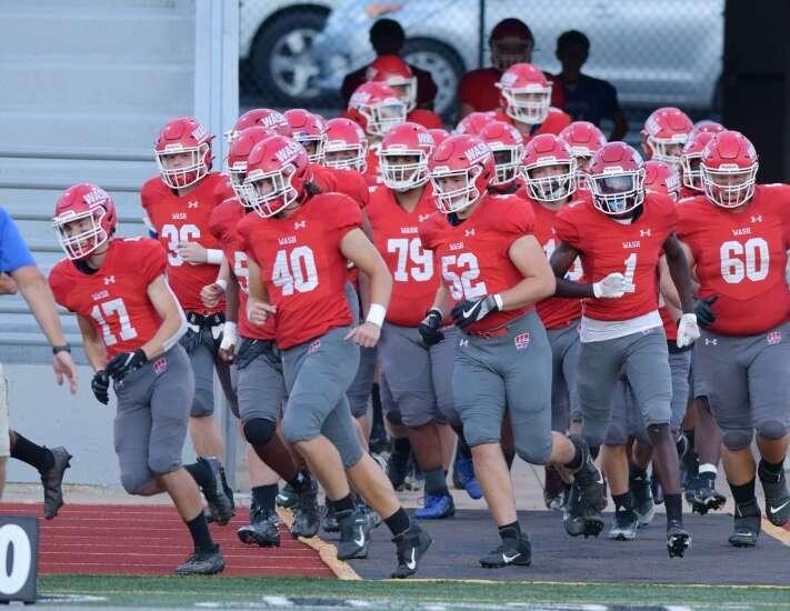 Photos: Cedar Rapids Kennedy vs. Cedar Rapids Washington, Iowa high school football Week 3