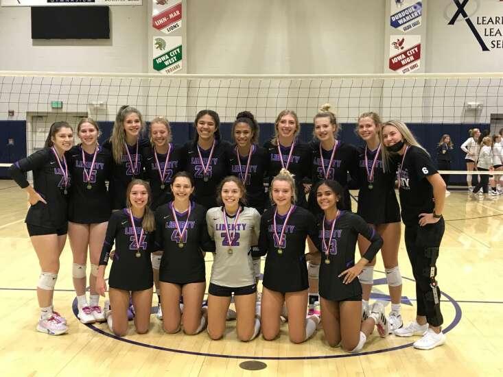 Iowa City Liberty steamrolls to MVC volleyball tournament championship