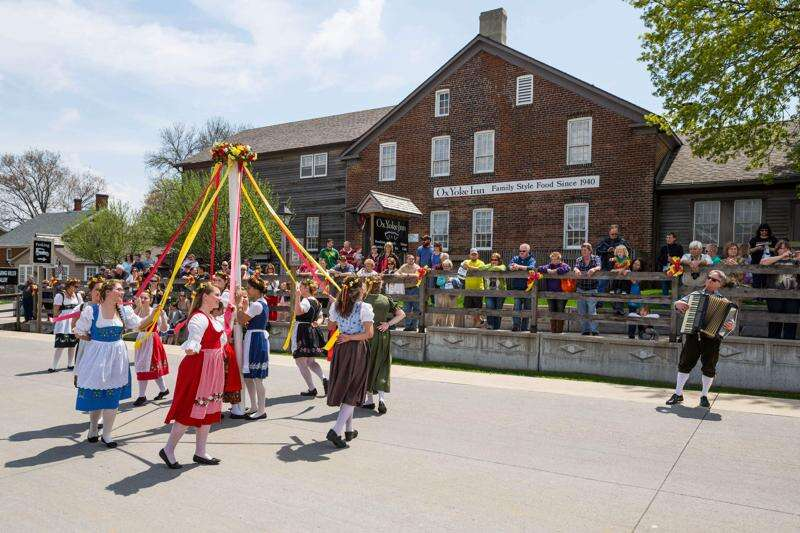 Spring into Maifest in the Amana Colonies