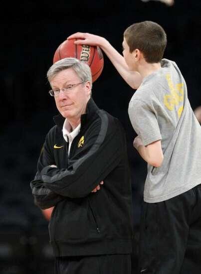 Iowa Coach Fran McCaffery puts family first, day of NCAA game