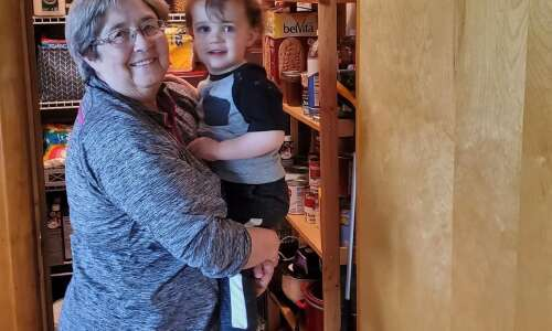 75-year-old woman comes out of the closet with son's help