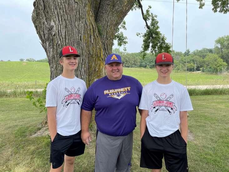 Family affair: Stenslands represent Alburnett, Lisbon at state baseball tournament