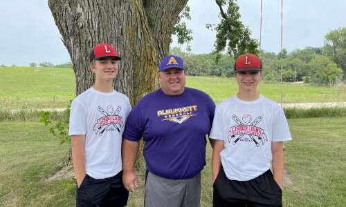 This family will accompany separate teams to state baseball