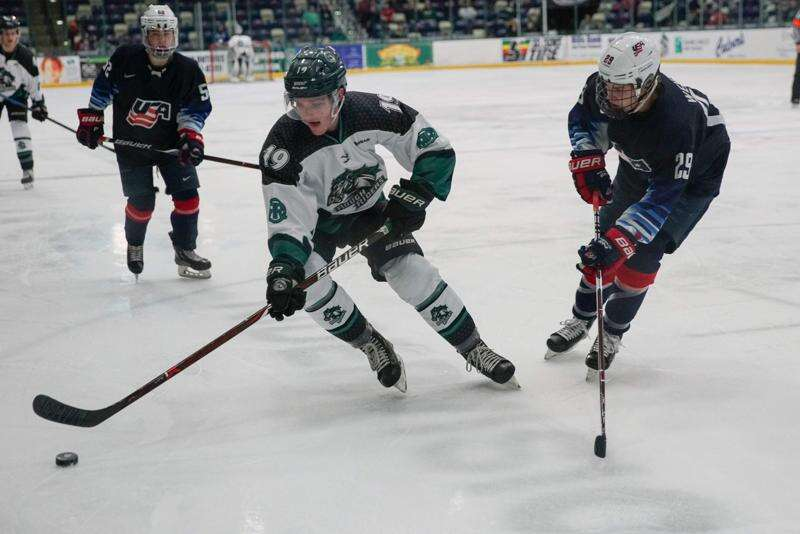 A lucky 7 goals for Cedar Rapids RoughRiders, who sweep into USHL playoffs second round