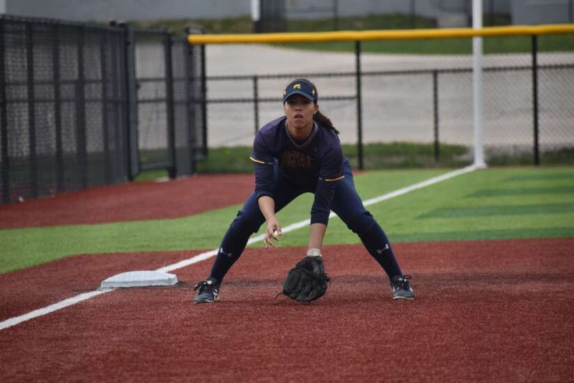 Hard work has paid off for Mount Mercy shortstop Payton Bruner