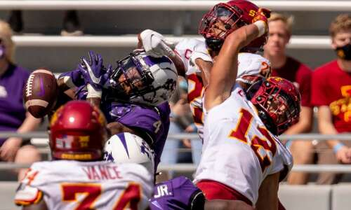Greg Eisworth, Anthony Johnson back to lead Iowa State secondary