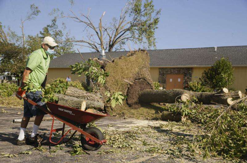 Places of worship still recovering from derecho's winds