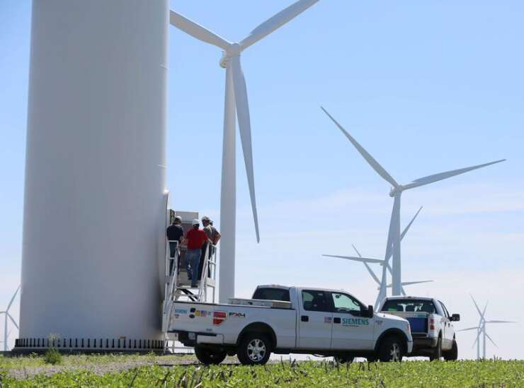 Without state regulation, Iowa counties get tougher on wind projects