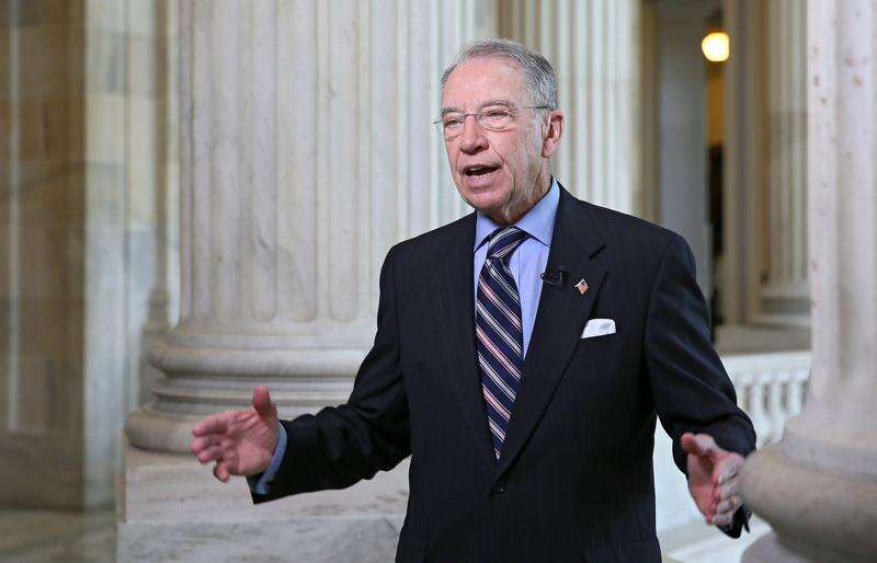 'They screwed us,' Grassley says of EPA's ethanol waivers