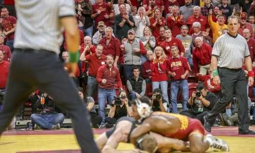 Iowa State wrestling schedule: Cyclones to open 2021 season Jan.…