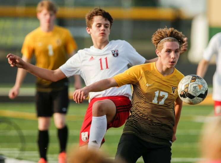 Vinton-Shellsburg, still a relatively new boys' soccer program, has built a winner