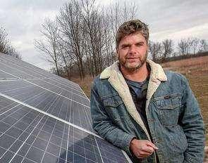 Solar energy powers Iowa jobs