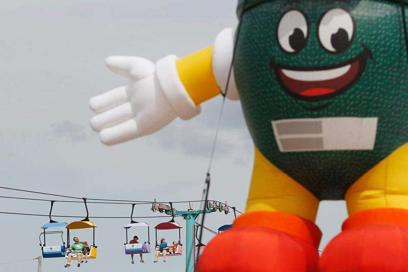 Got anything else but stuff on a stick? State fairs need to change, and remain the same