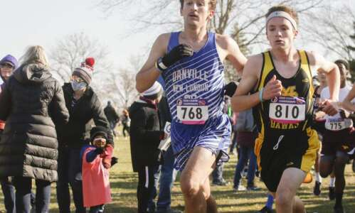Danville-New London boys off to state cross-country